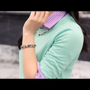 J. Crew Emerald Green Tippi Merino Wool Sweater